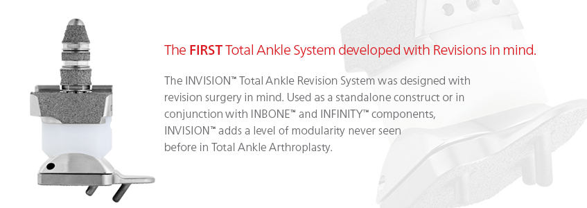 Invision Total Ankle Revision System Wright Medical Group